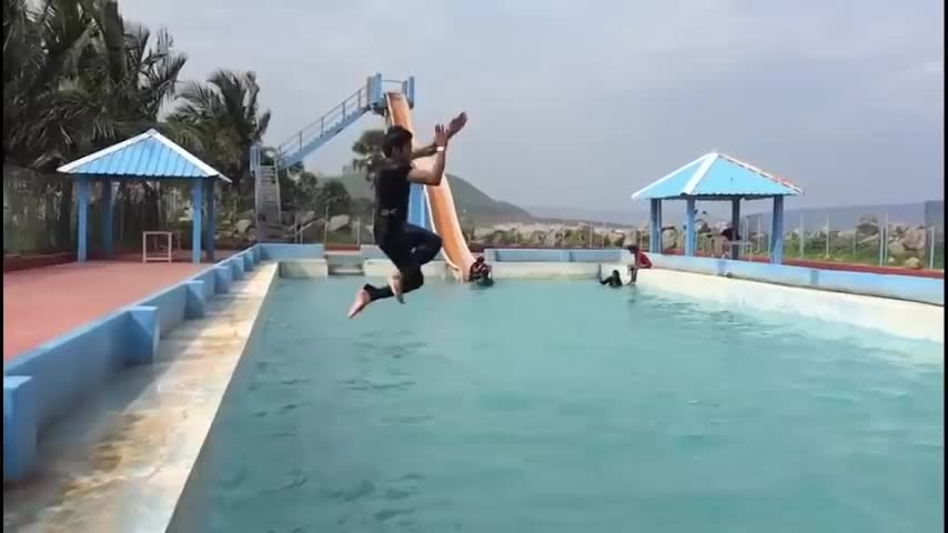 Amazing stunts done right||CREDIT- praneeth chandan