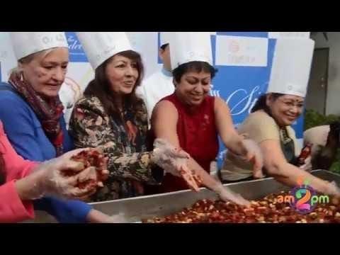 Christmas Cake Mixing Ceremony at The Stadel  #Food #Foodie #FoodBlogger #NewMenu #Kolkata #FoodBloggersKolkata #VBlog #Am2PmFood #PanchPhoron #youtuber #blogger #wow #followme #christmas #Cake #Cakemixing