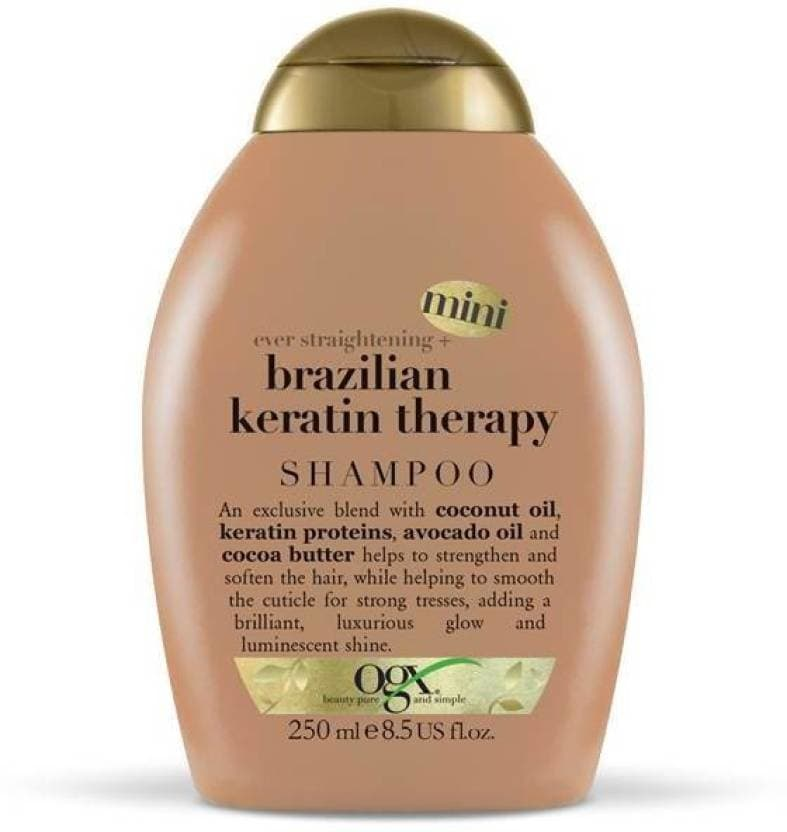 OGX Ogx Brazilian Keratin Theraphy Shampoo   Straightening & Smoothening Shampoo Ideal For: Men & Women Suitable For: All Hair Types Formulated For: Normal Hair Quantity: 250 ml  #shampoo #hairfall #hair #care #smooth #silky #frizzfree   Buy Now:- http://bit.ly/2tnXHyW