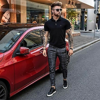 Checks be so cool ,looks elegant with almost everything  Credit-mensfashion_and_grooming   #mensfashion #casualstyle #fashion#dailyoutfits#mensoutfit#men'sfashion#ootdmen