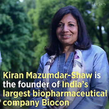 In honor of International Women's Day, meet Kiran Mazumdar-Shaw, founder of Biocon, India's largest biopharmaceutical company. Mazumdar-Shaw also holds another title: India's only self-made female billionaire. This is her story. Source credits: Forbes #womensday2018 #kiranmazumdar #womenofindia #successfulwomen #inspiringwomen #womenempowerment #womenequality #motivationalstories