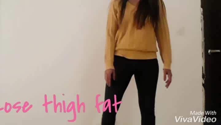 Lose thigh fat by incorporating squats into your workout routine.  #loseweight #losefat #loseweightfast #exercise #exerciseeveryday #exercisetips #workout #postpregancyweightreduction #befitbeacauseyoudeserveit #getfitnow #getfit #befitnotfat