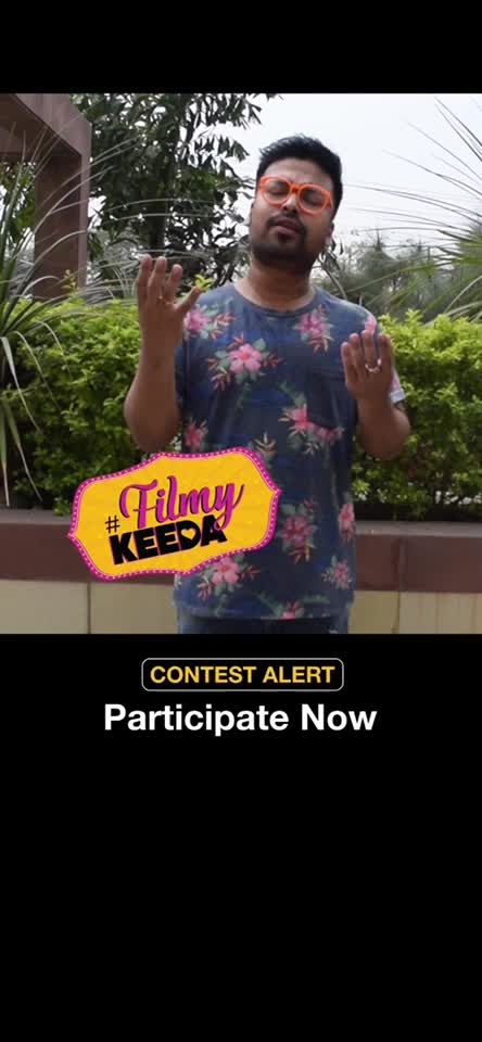 Check out @sobhanjan8 's entry for #Contest #FilmyKeeda and have a laugh! Show us your filmy side and win gift vouchers worth upto Rs. 3000.