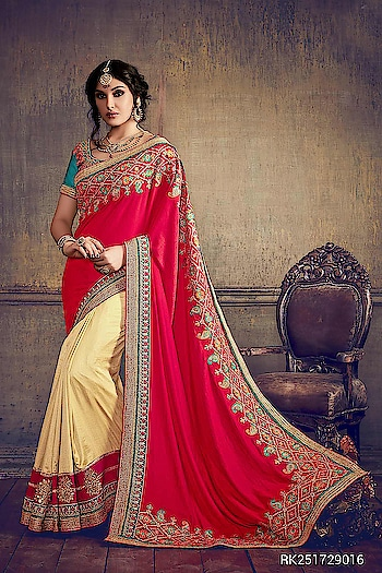 Category : Ethnic Wear Sub Category : Saree  Buy 1 product Get 2 surprise gifts free.  Product : RK2517 http://sringaar.com/SearchProduct.aspx?q=rk2517  #Sringaar #SringaarFashion #WE_DELIVER_WORLDWIDE  Whatsapp No : +91-9971331899 Contact us : +91-9212337921 Email - sales@sringaar.com  Visit Us at: http://www.sringaar.com Facebook : https://www.facebook.com/SringaarOnline Instagram : https://www.instagram.com/sringaarfashion  * Fabric of Saree - Barfi Silk and Net * Length of Saree - 6.30 Mtr with Blouse Pc * Fabric of Blouse - Raw Silk * Max. Bust Size Of Blouse- Upto 44 Inch * Work - Embroidery Work  #SareeInUk #SareeInSharjah #SareeInSaudiArabia #SareeInNewYork #SareeInMalaysia #SareeInLosAngels #SareeInHauston #SareeInDubai #SareeIndian #SareeInDallas #SareeInChicago #SareeInCanada #SareeInAustralia #SareeInAbuDhabi #SareeFromIndia