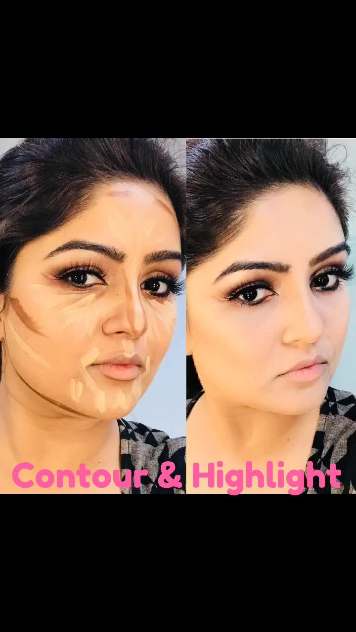 Contour & Highlight @lagirlcosmetics  ................................ #contouring #highlighting #highlightingandcontouring #makeuplife #makeupcrazy #makeupartist #makeuponfleek #makeuponpoint #mua #makeupartistindia #makeupartistdelhi #zaynaanjumghazi #makeupbyzayna👄