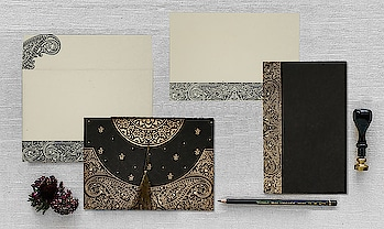 #black = a color of elegance or class... Save 20% on this invite👉https://www.indianweddingcards.com/social-offer Shop @ https://www.indianweddingcards.com/card-detail/CD-8234A #DesignerCards #DesignerInvitations #ElegantInvitations #WeddingCardsDesign #WeddingCards #WeddingInvitation #indianweddingcards #WeddingInvites #PaisleyInvitations