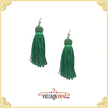 Now flaunt these gorgeous danglers for esummers! Easy breezy tassel earrings for summers! Get 10% off when you sign up for our newsletter! Hurry up grab your favorites before they sell out !  #jewelry #earring #necklace #goldearring #templejewellery #bollywoodjewellery #fashionjewelery #indianjewelry #weddingjewelry #kundanjewelry #polkijewelry #silverjewelery #kundan #lengha #bridal #bridalmakeup #mendhi #designersarees #lenghasmumbai #indian #beauty #fav #cuties #cuteness #stunner #reception #party #elegance #greylehenga