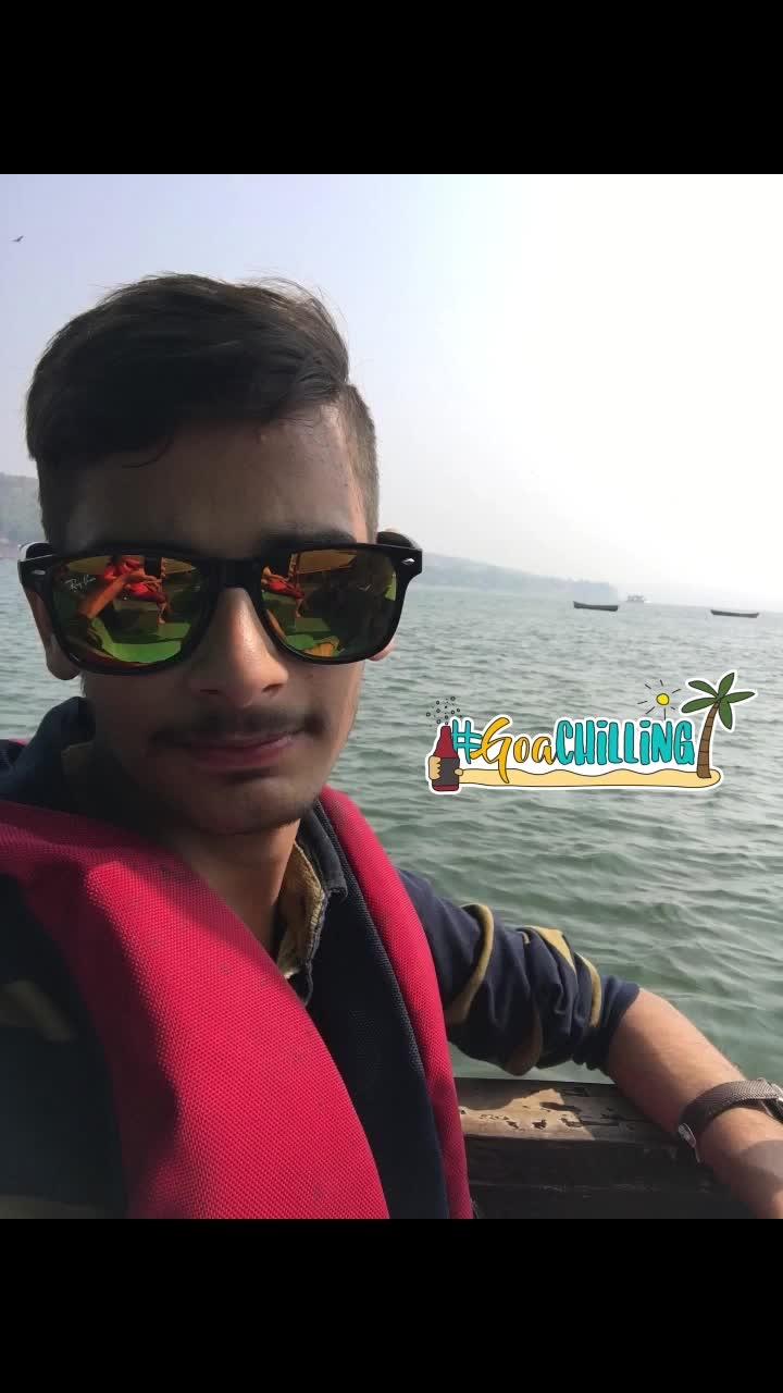 #goa #sea #boatride #ilovegoa #goachilling