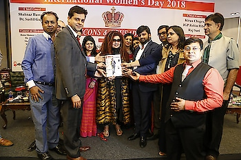 """NavDrishti Times hosts a memorable Women's Day event at Le-Meridien  By Bipin Sharma  Navdrishti Times hosted an exclusive Women's Day event at Hotel Le- Meridien on 7th March'2018. The highlight of the event was the felicitation of various achievers and crusaders from different fields, launching of """"NDT Icons & Crusaders"""" Magazine, followed by an animated panel discussion on the """"Role of Women Empowerment in Nation Building"""". Women's Day celebrated every year on 8th March plays a pivotal role in spreading awareness towards various issues concerning women, in addition to bringing to fore the myriad accomplishments of women achievers. In the true spirit of the festivity, the awards were conferred not only to women achievers, but to men achievers as well.  Neetu Singhal (Chief Editor, Navdrishti Times) and Navneet Grover (Fashion Show Director) played the perfect hosts of the event as they personally received the guests at the entry. The Chief Guests Shahnaz Husain, MP Dr Sushil Gupta and Kiran Chopra (Chairperson, Punjab Kesari Group) got a rousing welcome when they entered the event venue. Addressing the audience, senior Media Personality Bipin Sharma, expressed optimism about Dr Sushil Gupta playing a more crucial role towards the cause of the common man in his new innings as the MP in the Rajya Sabha. A role much bigger than what he had been playing all these years as a social activist and philanthropist. Bipin also enlightened everyone present on how """"Global Pioneer of Ayurveda"""" Shahnaz Husain had done the entire country proud by becoming a """"Subject"""" at the Harvard Business School, besides dedicating a lifetime towards spreading the wide spread benefits of """"organic beauty care"""".  The distinguished Guest of Honour's were Renu Hussain, Nivedita Basu, Entrepreneur Saurav Gupta, Pradeep Mittal, Social activist Meena Gupta, Virender Garg, Anuradha Khanna, Sanjeev Goenka, Dr Jai Madaan, Dr Anjumaan Nayyar (Life Coach), Anurag Gupta (Country Head-Max Bupa), Divij Bajaj """