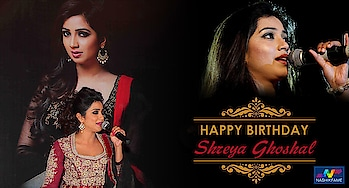 Musicis a reason of happiness and #ShreyaGhoshal is a beautiful singing sensation.  Wishing very Happy and melodious birthday to singing diva    #NashikFame #Nashik #Nasik #Shreya #Ghoshal #Singer #Birthday #12March #35thbirthday #shreyaghoshal #Shreyaghoshal #hbdshreyaghoshal #hindimusic #music #musician #musiclife #lovelyvoice #Indianplaybacksinger #beautiful #indian #bollywood #bollywoodsongs #bollywoodmusic #HappyBirthdayShreyaGhoshal #HappyBirthdayMelodyQueen