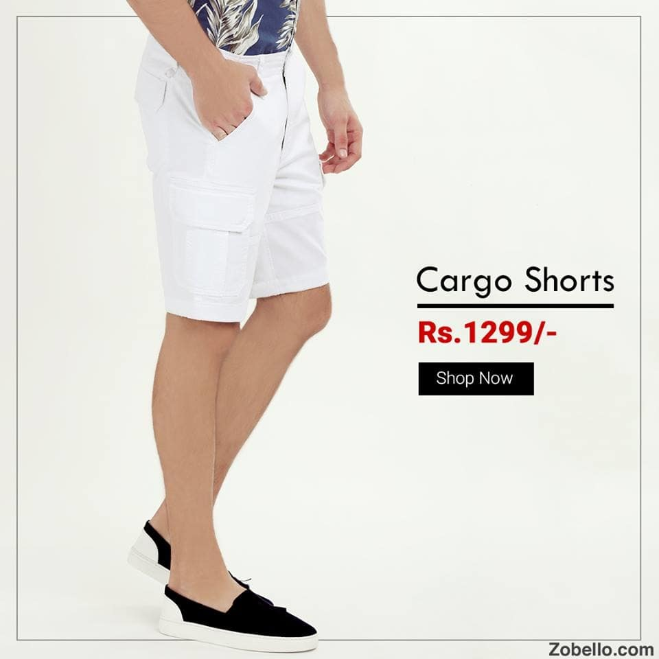Step into the new level of fashion with our 6-pockets rugged cargo shorts  😎| Crafted for limitless style and comfort | Shop @ https://goo.gl/HD9B5m   #menswear#fashion #summershorts#cargoshorts#onlineshopping