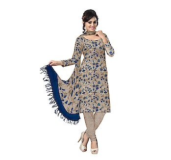 Handwoven #khadicotton unstitched salwar suit materials online. Shop at: http://ow.ly/nfw530iXlpE