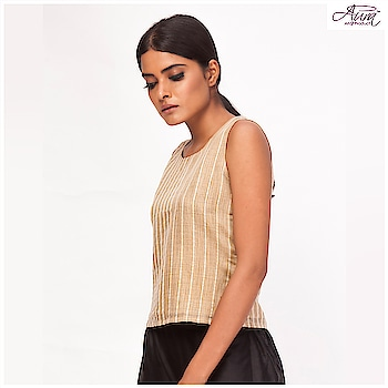 Price :  Now ₹670  #top #stripes #fashion #styles #fusion #fusionwear