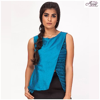 Price: Now ₹1199  #top #stripes #fashion #bloggerstyle #fusionfashion #fusionwear #summer-style