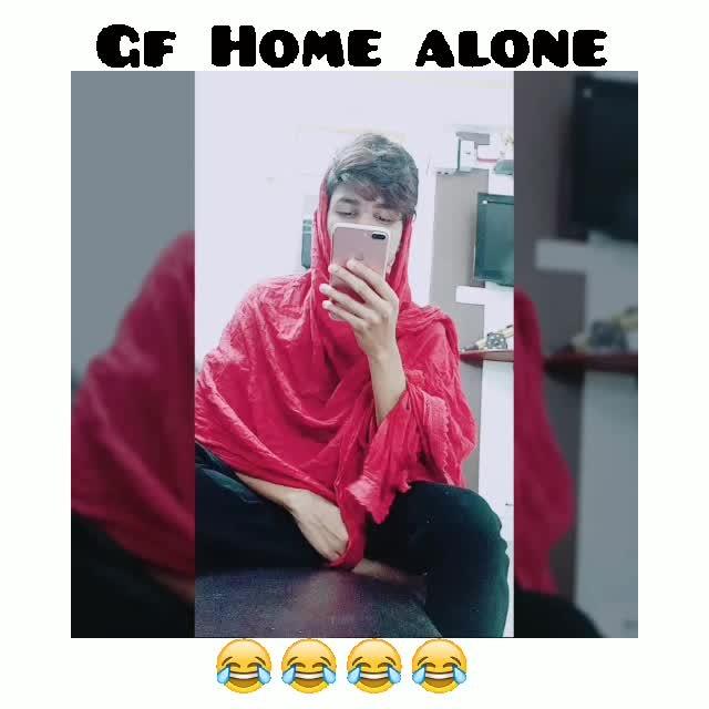 #gf #homealone #funny #funnyvines #funnyvideo #funnymemes #fun-on #gfbf #funny #Ark❤ #iamrashidk #love #actor #acting #film #filmykeeda #roposo #followme #roposocontest