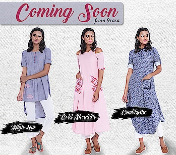 New collection coming soon!  https://9rasa.com/  #9rasa #studiorasa #ethnicwear #ethniclook #fusionfashion #online #fashion #kurta #layered #like #inidanwear #layeredkurta #comingsoon #newarrivals2018 #highlow #coldshoulderkurti