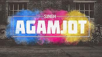 Colorful Smoke Text Effect - Agamjot Singh 😊