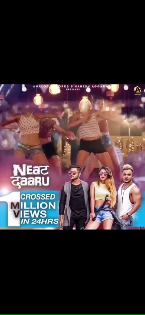 Good Evening 😍 NEAT DAARU🤩CROSSED 1.7 MILLLION VIEWS in just 24 hours 💃💃  Thank you so much for the Tremendous Response , Keep showering Your Love ❤️  Must watch #neatdaaru   https://youtu.be/pB3R7Kp3PKw  Neha Malik   @raman_kapoor  feat @millindgaba  : #neatdaaru #newsong #hit #yay #happy #happyme #goodnews #millionviews on #youtube #keepsupporting #showyourlove #like #share #thankyousomuch All my #lovely #fans #friends n #followers #loveyouall #xoxo #muchlove #nehamalik #millindgaba #ramankapoor #mumbai #pollywood #pollywoodfame
