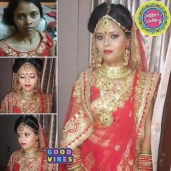 #bridalmakeup #byme #❤loveit❤ #bridalmakeupartist #indianwedding #goodvibes