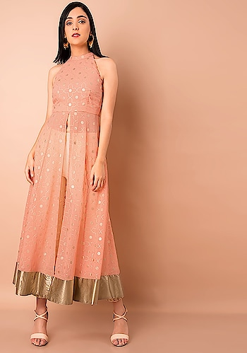 Go Ahead And Treat Yourself!   SHOP Halter Neck Maxi Tunic - https://goo.gl/e9WD7q  Peach Foil Print Halter Neck Maxi Tunic ₹ 2600  @Indya  #faballey #women-clothing #roposo #fashion-addict #party-edit #party #party-wear #clothes #Fashion #loveyourself #Maxi-Tunic #Halter-Neck #beauty #styles #love #followme #like #fashion #Tunic #celebration #trending #roposogal #wow #roposolove #Mustard #Peach #Summer #Foil-Print #Wedding