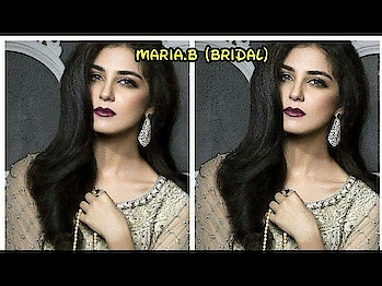 "*🌹#MARIA.B (#BRIDAL)* *""🎉wedding edition🎉*  MASTER REPLICA   👉Fully heavy embroidered sequence,fancy stones,crystal daimonds on work on neck with fancy latkan pearls on daman net front 👉Embroidered net back 👉Embroidered sequence, fancy stones work net sleeves with fancy latkan pearls 👉Malai crepe bottom  👉Net ghera with jhalar lace  👉Embroidered sequence net dupatta with 4 side embroidered border with fancy latkan pearls *💍pearls neck lace* *🎁Specially MARIA.B Box Packing*  *✅price 3200/-  Pics👇👇👇👇 Whatsapp on.  +918879845751."