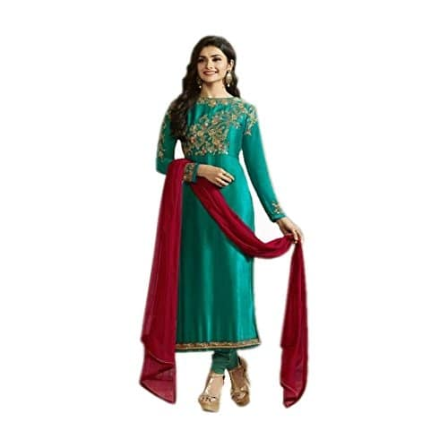 Aryan Fashion Women Georgette #SemiStitched #Dress Material @ Rs.1599. Buy Now at http://bit.ly/2pk82qW