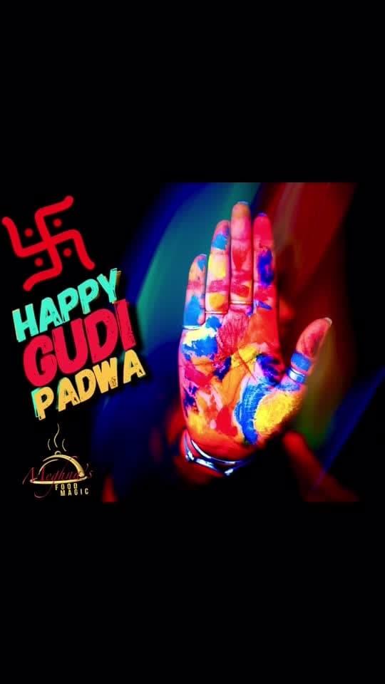 Welcoming the new year with colorful Rangoli on the floor. Wishing you a very Happy Gudhi Padwa. गुडीपाड़वा की बहोत सारी शुभ कामनाए ।💋💋💋 Love M #ChefMeghna #GudiPadwa #HappyGudiPadwa #GudhiPadwa #गुडीपाड़वा #GudiPadwa2018 