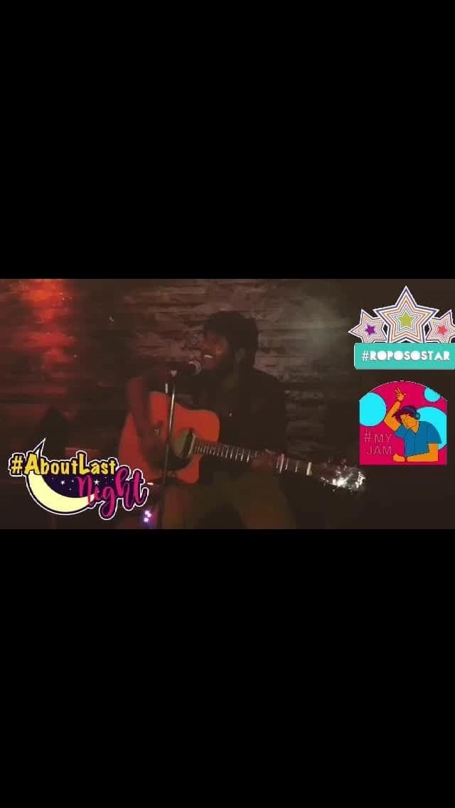 #myjam #arijitsingh #lastnight #beats #trendingnow #roposostar #myjam #aboutlastnight
