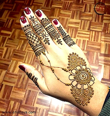 #Party special | Decorate your #hands with this #mehendi #henna design and look more attractive at festive gatherings. www.ishimaya.com  #mehendi #mehendilove #mehendidesign #mehendigiveaway #mehendiphotography #mehendiartist #mehendi design #mehenditime #mehendifunction #mehendioutfit #mehendi_tattoo #mehendiceremony #mehendigift #mehendinight #mehendionhand #wedding