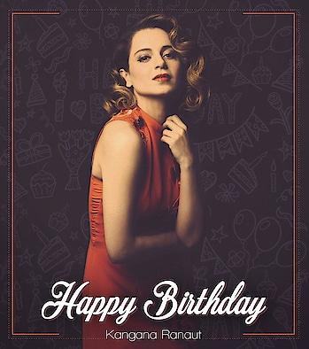 #bollywood #queen #birthdaygirl #actress #kanganaranaut #bollywoodqueen #hbd
