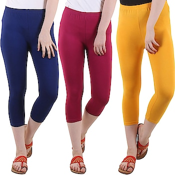 Diaz Cotton Lycra Capris For Women Pack Of 3  Fabric: 180 GSM Bio Wash Lycra Washing Instructions: Hand Wash In Cold Water Occasion: Casual wear, Daily Wear, Sports Wear  Buy Now:- http://amzn.to/2u1nMEe