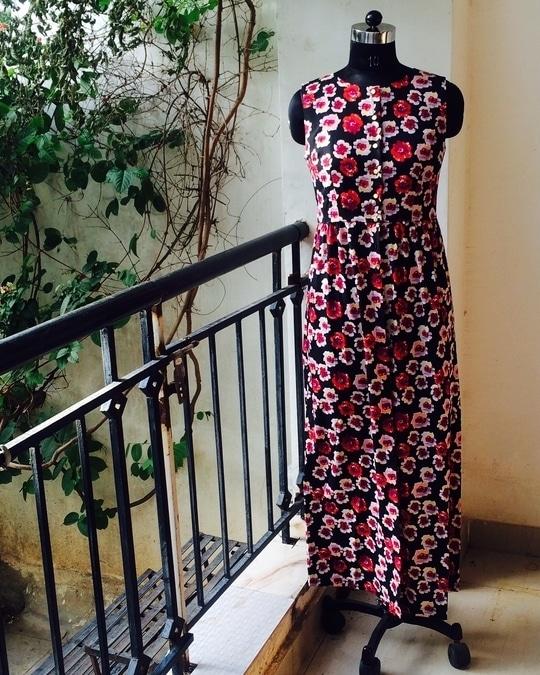 Flower Cape Dress #capes