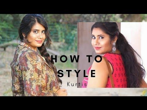 How to style in different ways   kurti outfits for COLLEGE, WORKING, CASUAL WEAR for every girl!   #roposolove #ropo-style #roposo-makeupandfashiondiaries #roposotalenthunt #youtubechannel #youtubecreators #be-fashionable #kurti #different-is-beautiful #differentcolours #outfit #outitoftheday #clotes
