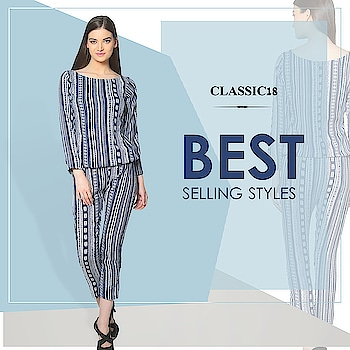 A printed co-ord set for all your daily brunches. Wear this with your hair up in a bun and complete your look with stylish shoes! Shop Now : http://bit.ly/2Guc7zd #jumpsuit #blue #printed #outfits #dailywear #casualwear #casual #summerwear #dailywear #westernoutfits #ootd #potd #ootn #style #lookoftheday #getthelook #lookbook #instadaily #fashion #summercollection #trendy #instafashion #follow #pictureperfect #keepitsimple