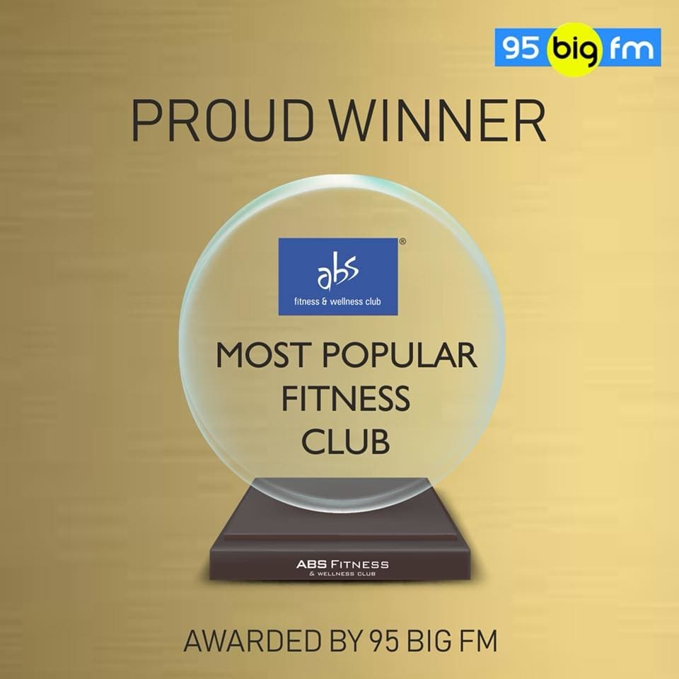 🤗 What a feeling to be awarded the Most popular fitness Club Awarded by 95 big FM  Nashikkars  🙋‍♂️ Get ready to stay healthy and fit. 😊 Abs Pre-launch offer has been started. 🤔🤗☺️😘 Enroll yourself and enjoy the fitness 💪  #NashikFame #Nashik #ABS #absfitness #absfitnessnwellness #award #trophy #achievement #proudwinner #MostTrustedBrand #PrestigiousAward #hardwork #love #passion #Successful #Winner #2018bestgym #fitnesslife #fitnessmotivation #fitnessawards #gymlife #gym #gymtime