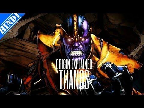 Thanos Origin & History Story | Explained In Hindi | Supervillain Origin