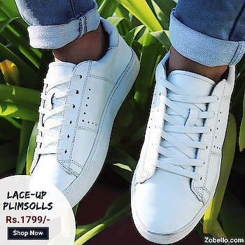 The coolest wardrobe staple of all time | Crafted from 100% faux leather with cushioned sweat absorbing insole  🤑| Shop White Faux Leather Plimsolls @https://goo.gl/TMH2KP   #menswear#fashion#shopping #shoes#sneakers#streetstyle#partywear