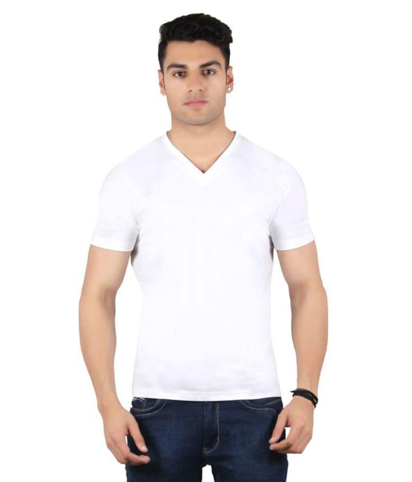 Diaz White V-Neck T Shirt  Fabric:100 Percent Cotton Color:White Sleeves:Half Fit:Regular Fit Pattern:Solids Neck Shape:V-Neck Wash Care:Hand Wash  #diaz #men #women #casualwear #stylish #top #leggings #jeggings #designer #bottomwear #tshirt   Buy Now:- https://bit.ly/2pzQS7V