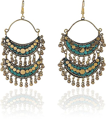 Avni Creation Double Layer Boho Earrings Beads Brass Chandelier Earring  happy #weekend #wedding #indianblogger #firstpost #blogger #menonroposo #captured #fun #roposo-style #roposolove #ropo-love #mood #nature #roposogal #jhakkas #beats #roposo #queen #photography #love #fashionblogger #soroposo #fashion #ropo-good #model #dude #bindaas #roposotalenthunt #merrychristmas #winter #loveyourself #dance   *Link https://www.flipkart.com/avni-creation-double-layer-boho-earrings-beads-brass-chandelier-earring/p/itmffenp4ekugbyp?pid=ERGFFENPZC9HURHV