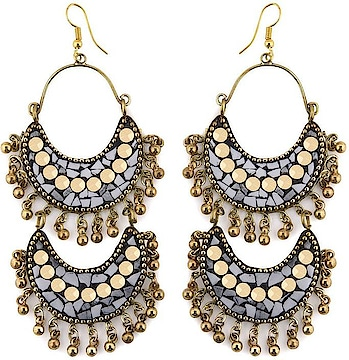 Avni Creation Double Layer Boho Earrings Beads Brass Chandelier Earring  happy #weekend #wedding #indianblogger #firstpost #blogger #menonroposo #captured #fun #roposo-style #roposolove #ropo-love #mood #nature #roposogal #jhakkas #beats #roposo #queen #photography #love #fashionblogger #soroposo #fashion #ropo-good #model #dude #bindaas #roposotalenthunt #merrychristmas #winter #loveyourself #dance   *Link https://www.flipkart.com/avni-creation-double-layer-boho-earrings-beads-brass-chandelier-earring/p/itmffenzzatgfsvc?pid=ERGFFENZHDEXNBZC