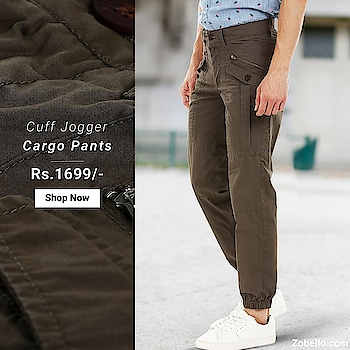 Nothing can beat our rugged, enzyme washed, 6-pockets twill cargo cuff jogger pants, when it comes to the providing comfort and utility on your off-road adventures | Shop @ https://goo.gl/JPCU1D    #menswear #fashion #shopping #cargopants #cuffjogger
