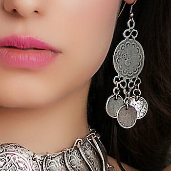 Young & Forever Gypsy Silver Coin Dangler Earrings For Women.  Add a touch of gypsy boho with these coin style hook earrings in silver. All year round these will add a touch of laid back glamour to any outfit. An absolute accessory essential that you can wear day or night.  #earrings #earring #earings #ear #earing #earringsoftheday #earringswag #earringlove #earringstagram #earringaddict #earringslove #earringshop #Catholic #lent #lent2018 #eater #easter #easterweekend #easter celibration2017 #pre-easter-planning #easterneye #eastereggs #easteregg #march #march2018 #londonthumakda #happy #music #song #ootd #bindaas #womanpower #photography #thuglife #indian #moonwalking #musicbeats #soulfulquotes #fridayfun #weekend #glitter #ropo-style #ropo-love #jhakkas #dabangg #fashionblogger #roposostar #hahatv #myjam #followme #soroposo #mood #wow #beats #heart