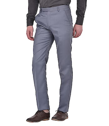 Time to Look More Dapper with these grey trousers.   #ootd #fashionblogger #fashion #style #pants #pantsuit #pantsformen #pantstyle #pantsonline #shirtsandpants   https://www.winsant.com/product/ansh-fashion-wear-mens-regular-grey-wear-formal-trouser11422?color=Gray&prod_color=7