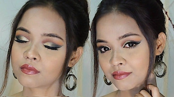 GLAM Party Makeup look ft. Makeup Revolution Iconic Division Palette || Sayantani Some  #ropo-style #ropo-beauty #makeuplook #makeuptutorial #glammakeup #glamlook #glammakeuplook #indianmakeup #indianmakeupartist #mua #indianmua #bengaliyoutuber #kolkatavlogger #kolkatayoutuber #kolkatablogger #kolkatabeautyblogger #bengaliblogger #bengalibeauty #indianyoutuber #indianvlogger #indianblogger #indianbeautyblogger #beautychannel #ytcreatorindia