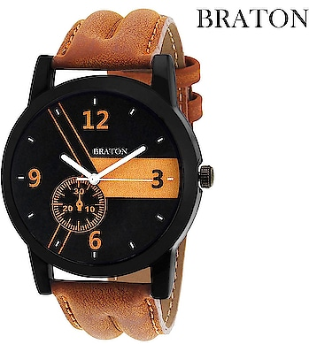 Braton fashion Watch For Men and women. Edgy and affordable range of watches. Crafted from a rich quality material, this watch for men's is light in weight and long lasting too. Add a physical dimension to your Style. To buy , click on the respective images:- https://amzn.to/2GpWA3z  #watches #menwatches #watchesformen #womenwatches #Trendywatches