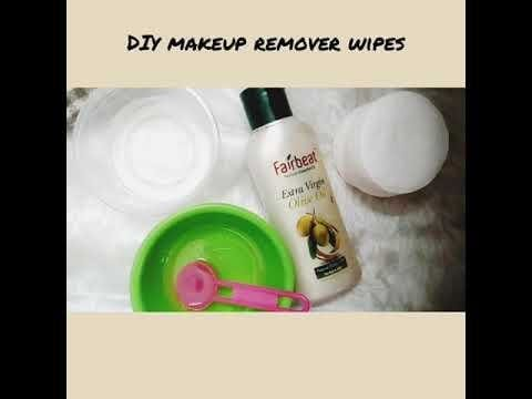 New video is up on my youtube channel. Do watch it...  DIY makeup remover wipes making| Chemical free|100℅ organic| video in English  #chennaiblogger #vegan  #natural  #trichyblogger  #chemicalfree  #makeup  #removerwipes #organicblogger #oils #coconutoil  #oliveoil #thegoldiegirltales