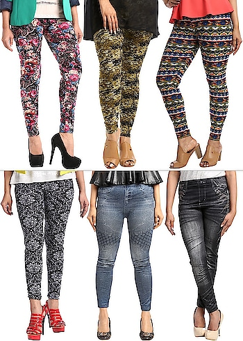 Buy Special 6- Pack of 4 Butter Pants & 2 #Jeggings By Couture Cat for Rs. 1199/- and Get Rs. 1000 Loyalty Bonus.  Buy now: https://bit.ly/2GYmMDy  #WomenJeggings #WomenClothing