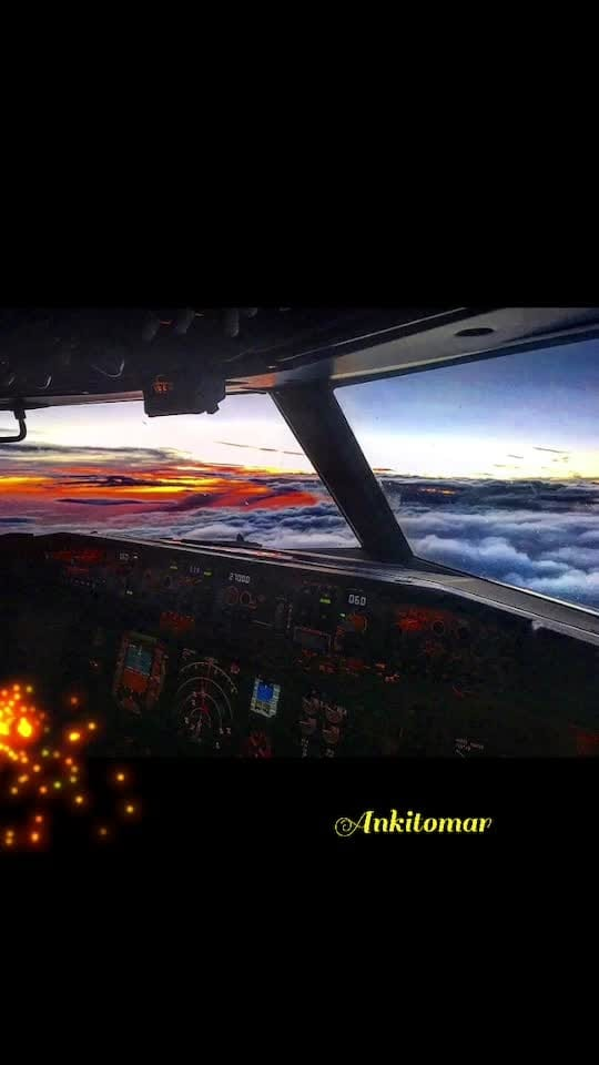 This happens When u have the most beautiful pilot friend who also loves photography!!!😍😍🌪✈️✈️ . Follow: @jatt1811_photography  Camera: #iphoneography . #cockpit #737 #travel #redsky #travelgram #clouds #cloudporn #sunset #sunsetsky #dusk #dawn #sun #sunset #sunrise #sunrisesunset #photography #skyporn #redsky #photooftheday #loveredsky #photoart #photograph #worldphotographers #sun #sunrisesunset #photography #skyporn #loveredsky #clouds #archive #cloudpprn #nature #photographyislifee #photoart #loveofmylife #musafir #rangoli #clicked #captured #capturedchannel