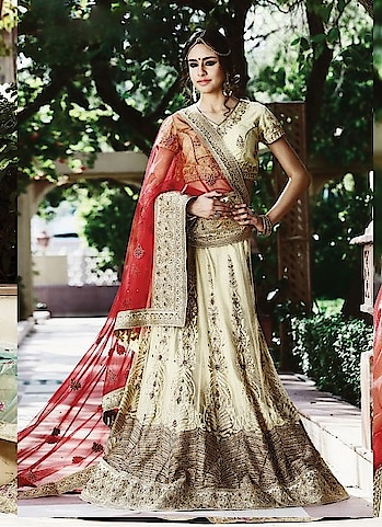 "Accentuate your look with Our Gorgeous collection Of #designer #lehenga choli.Checkout this Collection @ <a href=""https://www.bigbindi.Com/lehenga/designer"">https://www.bigbindi.Com/lehenga/designer</a>  #lehengacholi #lehenga #lehenga-for-wedding #lehengacholionline #latestlehenga #latestcollection"