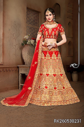 We present our Latest Wedding Lehenga Choli Collection..  http://www.sringaar.com/buy/party-wear-lehenga-choli.aspx  Product : RK2605 http://sringaar.com/SearchProduct.aspx?q=rk2605  #Sringaar #SringaarFashion #WE_DELIVER_WORLDWIDE  WhatsApp No : +91-9971331899 Contact us     : +91-9212337921 Email     : sales@sringaar.com  Visit Us at  : http://www.sringaar.com Facebook  : https://www.facebook.com/SringaarOnline Instagram  : https://www.instagram.com/sringaarfashion  Fabric of Lehenga - Silk Fabric of Inner of Lehenga - Sattin Fabric of Dupatta - Net Fabric of Choli - Silk Size Available - Bust Size: 44 Inch; Lehenga Waist: 38-40 Inch; Lehenga Length: 45-48 Inch Work - Heavy Zari Embrodiery And Daimond Work  #Lehenga-In-USA #Lehenga-In-UK #Lehenga-In-Sharjah #Lehenga-In-Saudi-Arabia #Lehenga-In-New-York #Lehenga-In-Malaysia #Lehenga-In-Los-Angels #Lehenga-In-Hauston #Lehenga-In-Dubai #Lehenga-In-Dallas #Lehenga-In-Chicago #Lehenga-In-Canada #Lehenga-In-Australia #Lehenga-In-Abu-Dhabi
